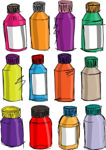 sketch-of-colorful-bottles-vector-illustration_MklyMMuu_L-213x300